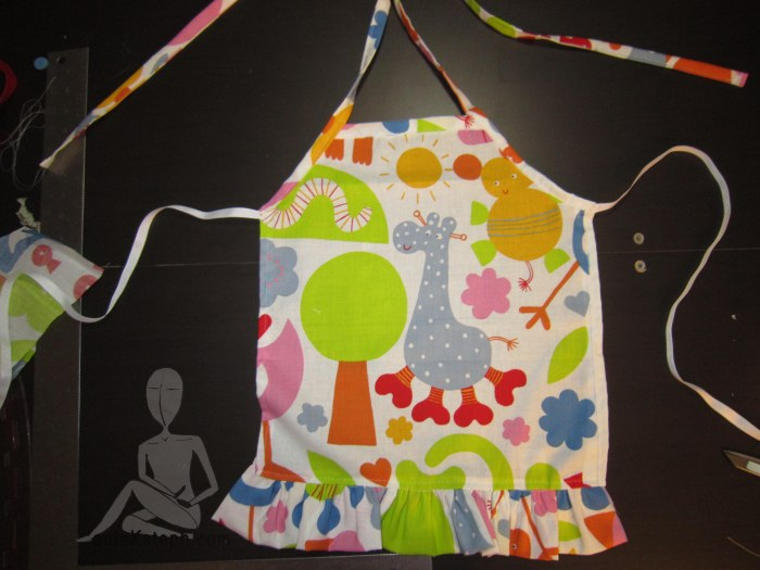 Kid's animal apron