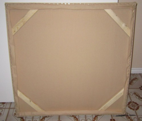 Other Finished frames with stretched canvas