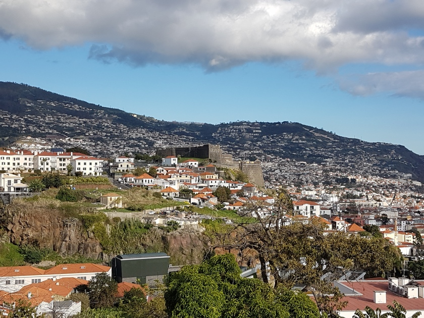 Skyline: Funchal Madeira- Sao Joao Neighbourhood